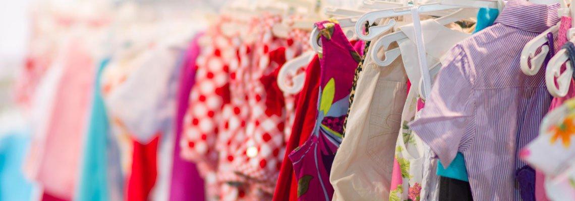 Ligne de vêtements de mode pour filles