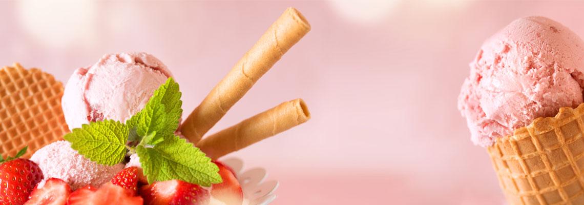 Glaces et desserts italiens