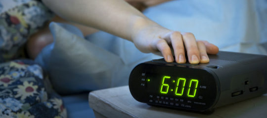 Réveil radio