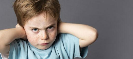 comportement d'un jeune enfant