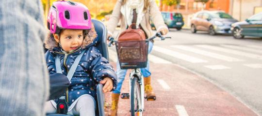 Sièges bébé sur vélo